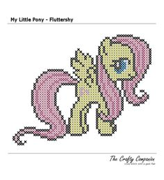 My Little Pony - Fluttershy crosstitch