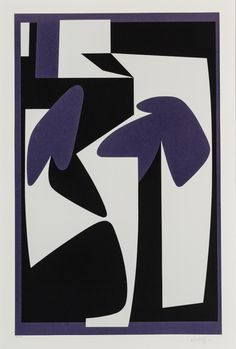 VICTOR VASARELY, Composition I, 1975. Lithograph print. / Galerie Michel Fillion