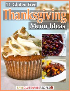 11 Gluten Free Thanksgiving Menu Ideas | Need a few Thanksgiving side dish recipes? Or desserts? Check out this collection of simple gluten free recipes for Thanksgiving!