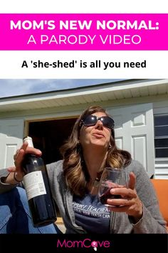 Just chilling outside my she-shed. No fuss! Here are some of the funniest moms online who joined us to create this parody video of neighborhood moms during lockdown. We hope you are finding little moments of joy during this tough time and connecting with your friends any way you can. #newnormal #momhumor #funnymoms #parody