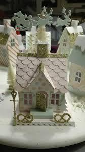 Resultado de imagem para glitter houses christmas village