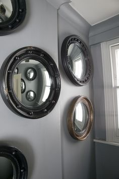 convex mirror collection in Mirrors from Alex Macarthur