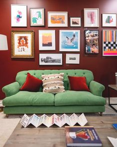 Our Truffle sofa looked like a work of art itself thanks to the super stylings of at last month's Loaf Sofa, Truffles, Gallery Wall, Sugar Free, Lisa, Furniture, Home Decor, Art, Comfy Couches