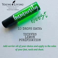Must-have immunity booster using your Young Living starter kit oils Essential Oil Starter Kit, Yl Essential Oils, Young Living Essential Oils, Essential Oil Blends, Yl Oils, Young Living Oils, Rollers, Aromatherapy, Natural Remedies