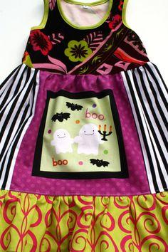 Boo Town Halloween dress