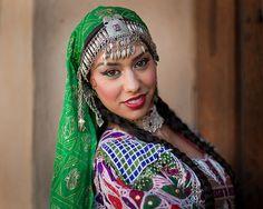 Tara in Afghan Dress