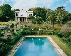 Christopher Gibb's, Tangier. This looks divine...with creepy crawlers coming out of the hedge.