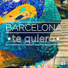 Declara tu amor por Barcelona. ♥