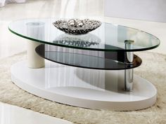 10 Marvelous Coffee Table Styles To Make Your Living Room Looks More Beautiful - Interior Decoration Accessories coffee tables Kmart Coffee Table, Black Glass Coffee Table, Contemporary Glass Coffee Tables, Coffee Table With Shelf, Coffee Table Furniture, Oval Coffee Tables, Coffee Table Styling, Glass Table, Oval Table
