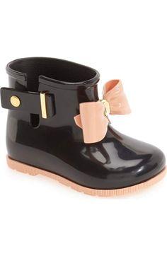 b15b4a36348 Mini Melissa Mini Sugar Rain Boot (Walker   Toddler)