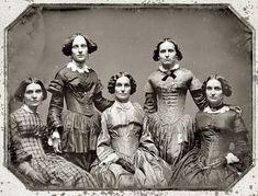 Frances Benjamin Johnston | VINTAGE PHOTOGRAPHY: The Clark Sisters 1850