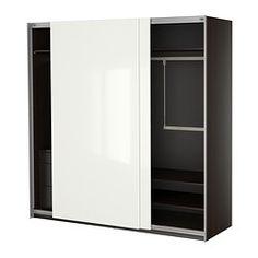 PAX Wardrobe with interior organizers - IKEA... on sale now $616.25 with interior organizers....