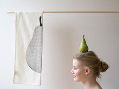#TeaTowel #Pear #JurianneMatter  BijzonderMOOI* #Dutchdesign