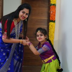Mother Daughter -Traditional wear