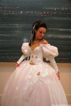 Labyrinth Costume Sarah's Ballgownready to ship by arabydesigns, $300.00