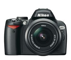 Easy-to-use Nikon camera comes with all the high-tech wizardry of advanced digital SLR picture taking. Nikon D3000, Nikon Dslr, Slr Camera, Nikon Cameras, Digital Camera Tips, Digital Slr, Canon Digital, Photography Camera, Photography Tips
