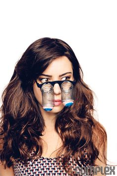 Aubrey Plaza--she's such a freak, i love her and her hair