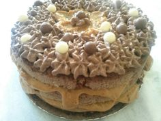 Naked Cake Doce de Leite