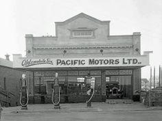 Pacific Motors, 221 Brisbane Street, Ipswich, 1927 Ipswich Qld, Queenslander, Queensland Australia, Back In The Day, Historical Photos, Brisbane, Old Photos, Motors, Past