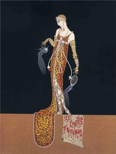 458 best erte romaine tirtoff images on pinterest art deco