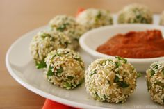 veggie rice balls - here's an idea for leftover rice and veggies from the dinner before