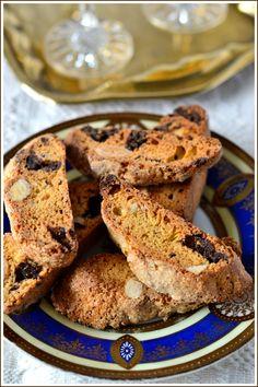 Ajándékok házilag 13.- Cantuccini étcsokoládéval és pirított mandulával, a verhetetlen, kétszer sült, ropogós olasz keksz - Házisáfrány
