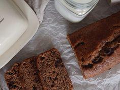 Mogyoróvajas-csokis banánkenyér Food Design, Banana Bread
