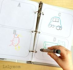 Alphabet Pictionary -- Get Creative While Working on Those Letter Sounds!