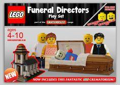 Lego Funeral Directors - too funny!