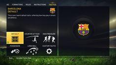Default Tactics - FIFA 15 by EA Sports