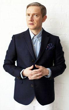 Martin Freeman - Esquire UK photo shoot 2012