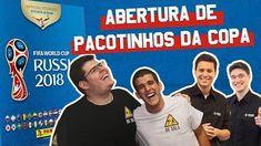 🔴 Futebol Brasileiro - Esporte Interativo está ao vivo: ABERTURA DE FIGURINHAS DO ÁLBUM DA COPA DO MUNDO 2018!
