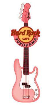 Hard Rock Cafe Japan | Fender Spray Guitar Pin