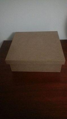 Modelos de caixas cruas 18X18 que pode ser pintadas ou forradas