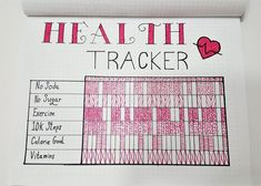 Weight Loss Tracker for Bullet Journal – Develop Healthy Habits! Weight Loss Tracker for Bullet Journal – Develop Healthy Habits! Bullet Journal Tracker, Bullet Journal Health, Bullet Journal Ideas Pages, Journal Pages, Bullet Journal Workout, Diet Journal, Weight Loss Journal, Fitness Journal, Training Journal