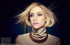 Kristin Cavallari, 27, posed for the cover story of Line magazine's Fall/Winter 2014 beauty issue