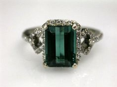 Tourmaline Ring - gorgeous ! My mother has one of these and I love it!