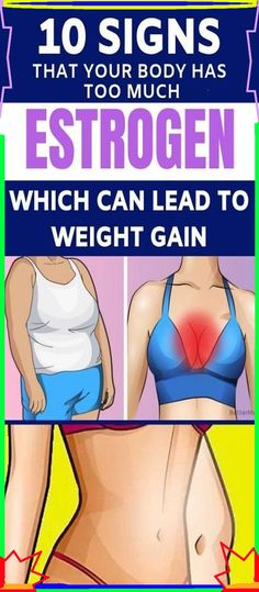 Here Are 10 Signs You Are Gaining Weight Because Of Too Much Estrogen