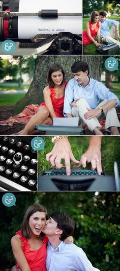 cute idea for engagements