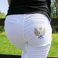 Team Equestrian Chinos, now available from £24.99 available in red,white and navy .