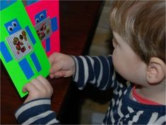 Kids Get Crafty - Robot Cards & The Robot & The Blue Bird - Red Ted Art's Blog