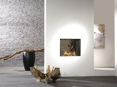 Modern Interior Fireplaces  |Shared by Sparano + Mooney Architecture|