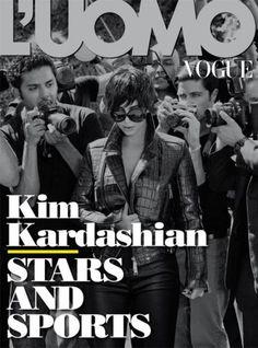 7ee6c795df L UOMO VOGUE Magazine June 2012 KIM KARDASHIAN Mark Ruffalo KATY PERRY  Giorgio Moroder