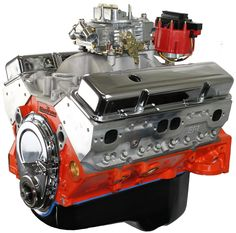 The 8 best blueprint gm 400 crate engines images on pinterest 400ci stroker crate engine small block gm style dressed longblock with carburetor aluminum heads roller cam malvernweather Image collections