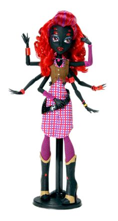 Monster High Insider Expected Character   Wydowna Spider