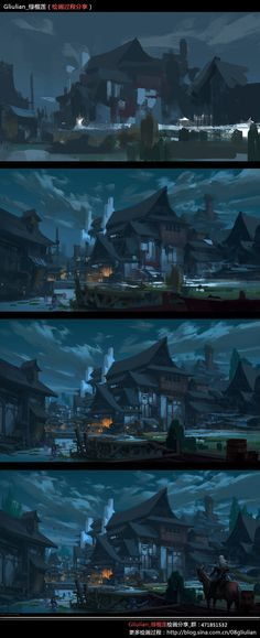 ArtStation - Painting Process~1, G liulian