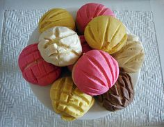 pan dulce conchas | Flickr - Photo Sharing!