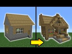 Minecraft Tutorial: How to Transform a Village Library - YouTube