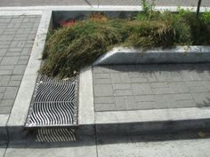 Beautiful bioswales help restore the water cycle in Portland, OR. Click image for many more examples, and visit the Slow Ottawa 'Streets for Everyone' board for more sustainable design ideas.