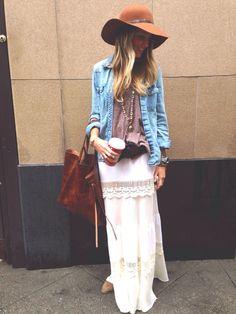 Boho Queen {skirt from NightCap clothing} nightcapclothing. Hippie Chic, Hippie Style, Estilo Hippie, Gypsy Style, Bohemian Style, Boho Chic, Style Me, Coachella, Indie